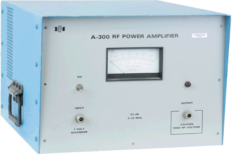 ENI/E&I A300 Power Amplifier 300 kHz - 35 MHz, 300 Watts