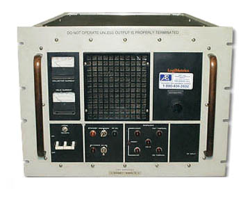 Logimetrics A500/X High Power Microwave TWT Amplifier