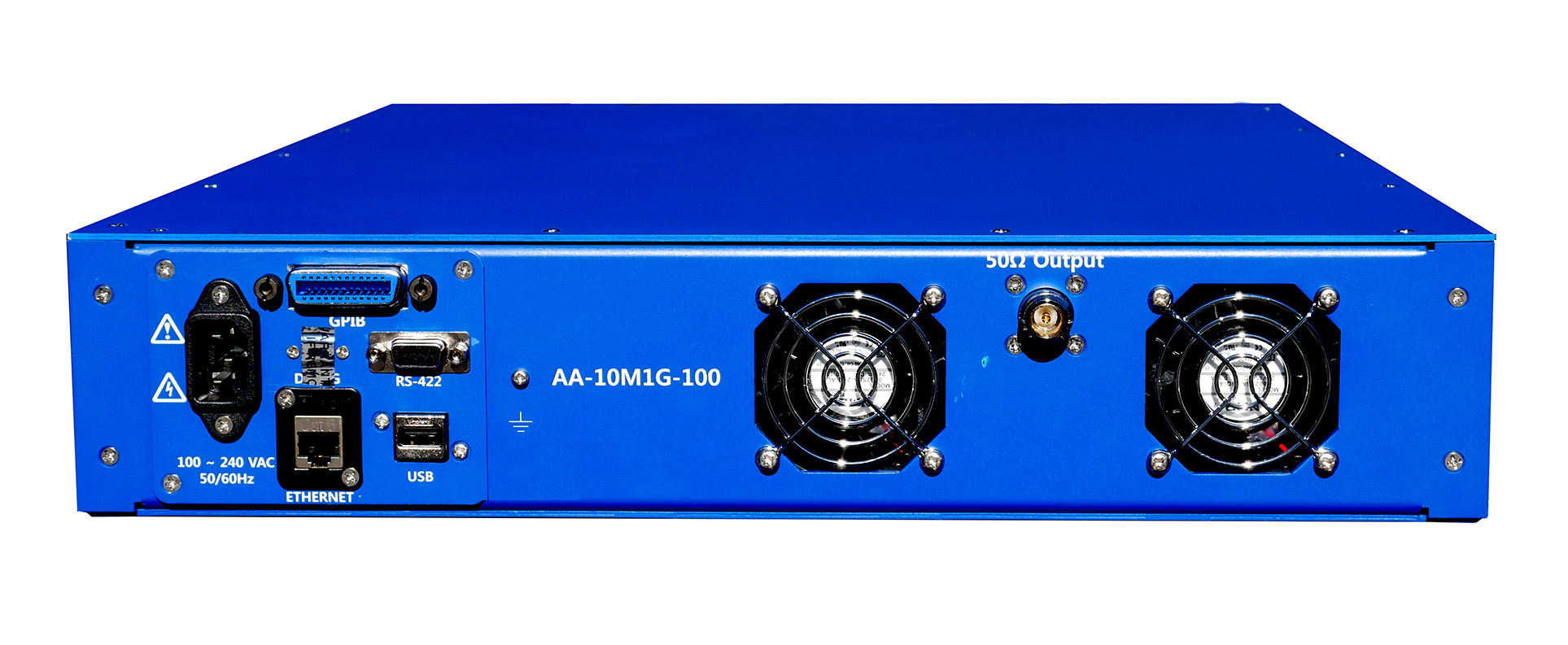 Advanced Amplifiers AA-10M1G-100 Solid State Amplifier | 10 - 1000MHz, 100W