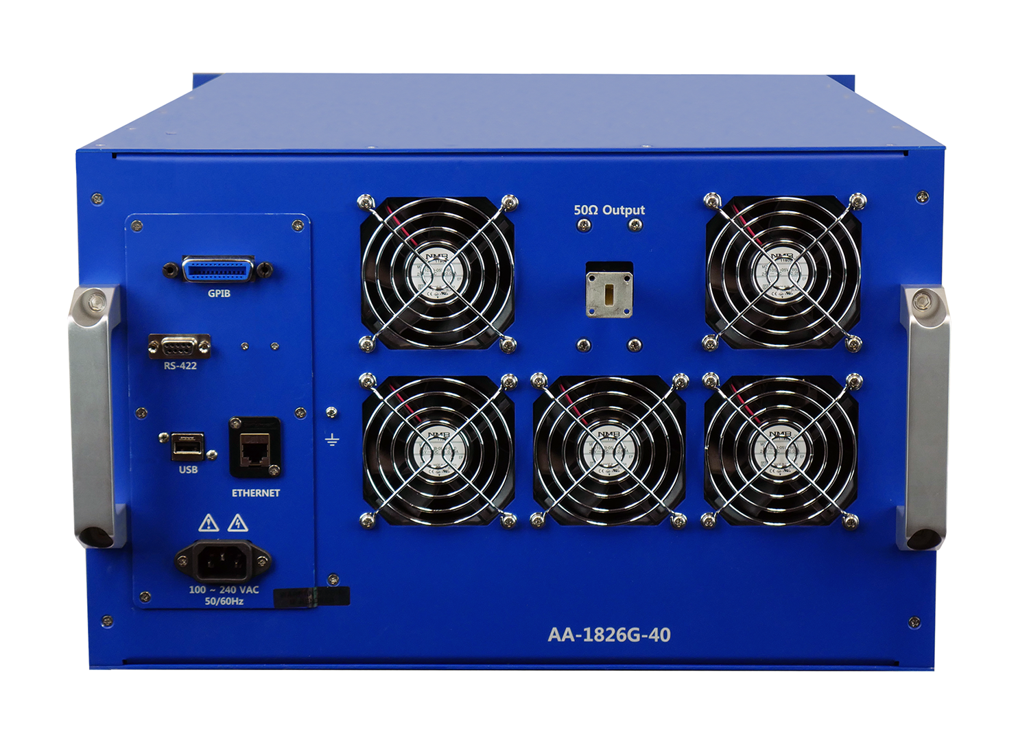 Advanced Amplifiers AA-1826G-40 Solid State Amplifier | 18 - 26.5 GHz, 40 W