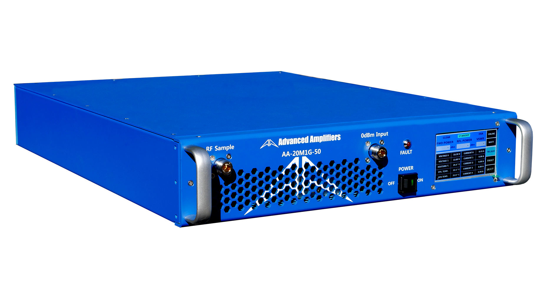 Advanced Amplifiers AA-20M1G-50 Solid State Amplifier | 20 - 1000MHz, 50W