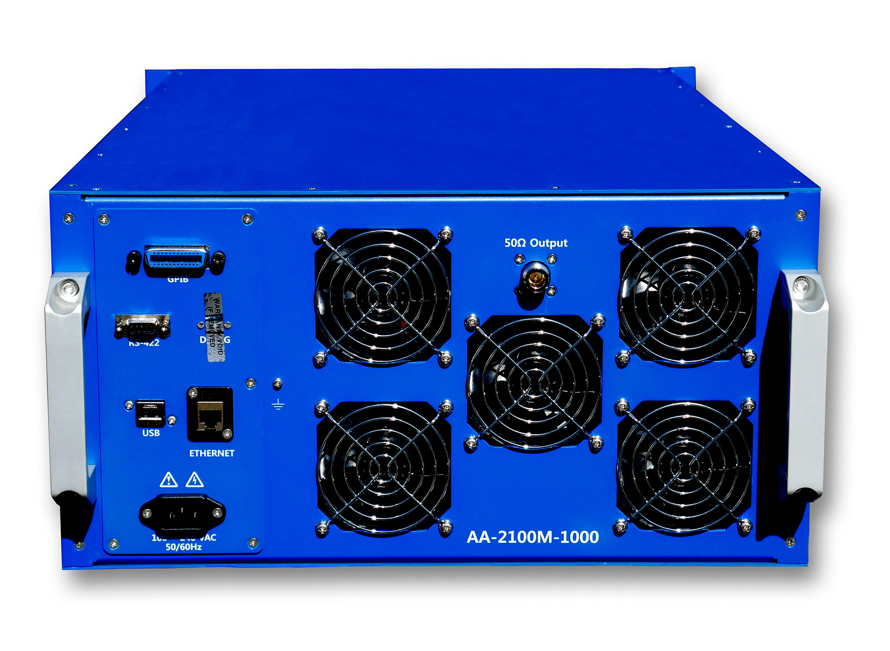 Advanced Amplifiers AA-2100M-1000 Solid State Amplifier | 2 - 100 MHz, 1000 W