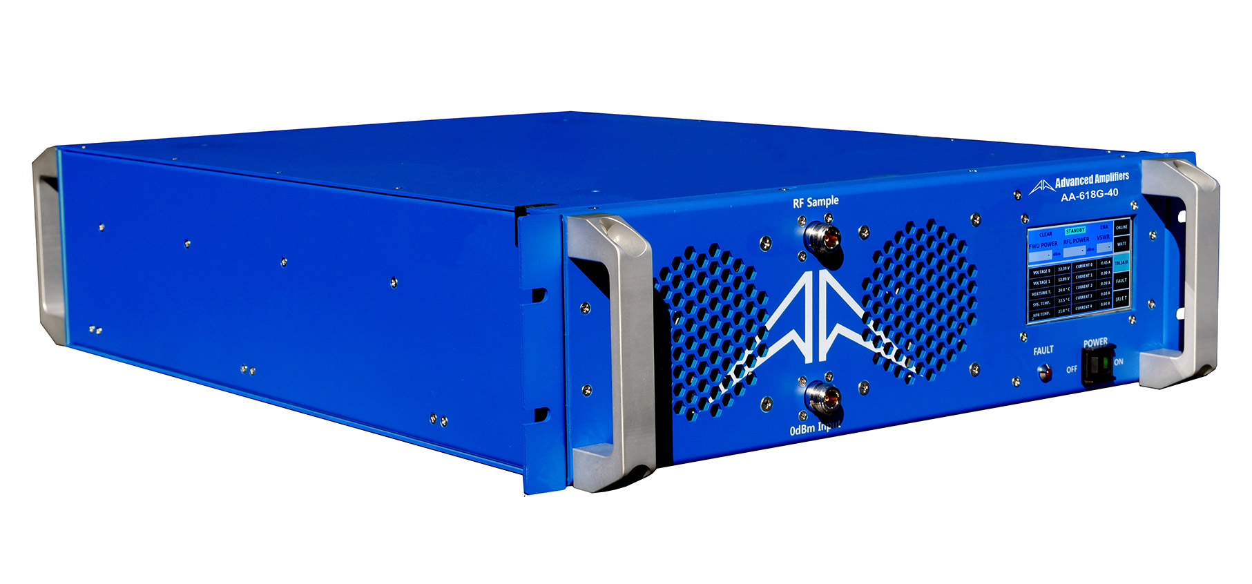 Advanced Amplifiers AA-618G-40 Solid State Amplifier | 6.0 - 18.0 GHz, 40 W