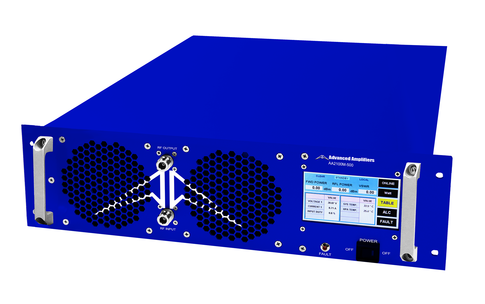 Advanced Amplifiers AA-2100M-500