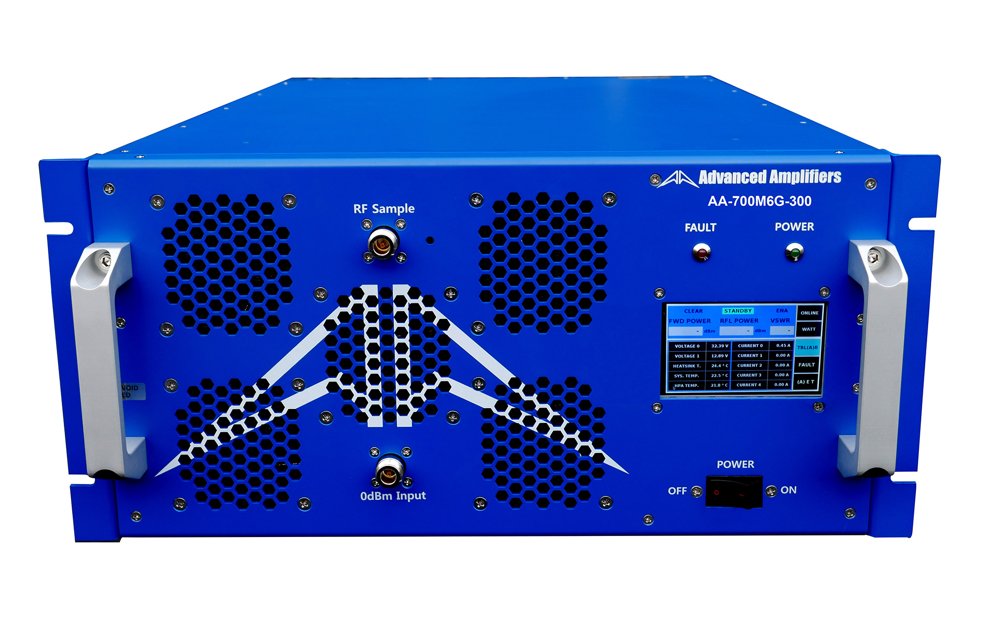 Advanced Amplifiers AA-700M6G-300 Solid State Amplifier