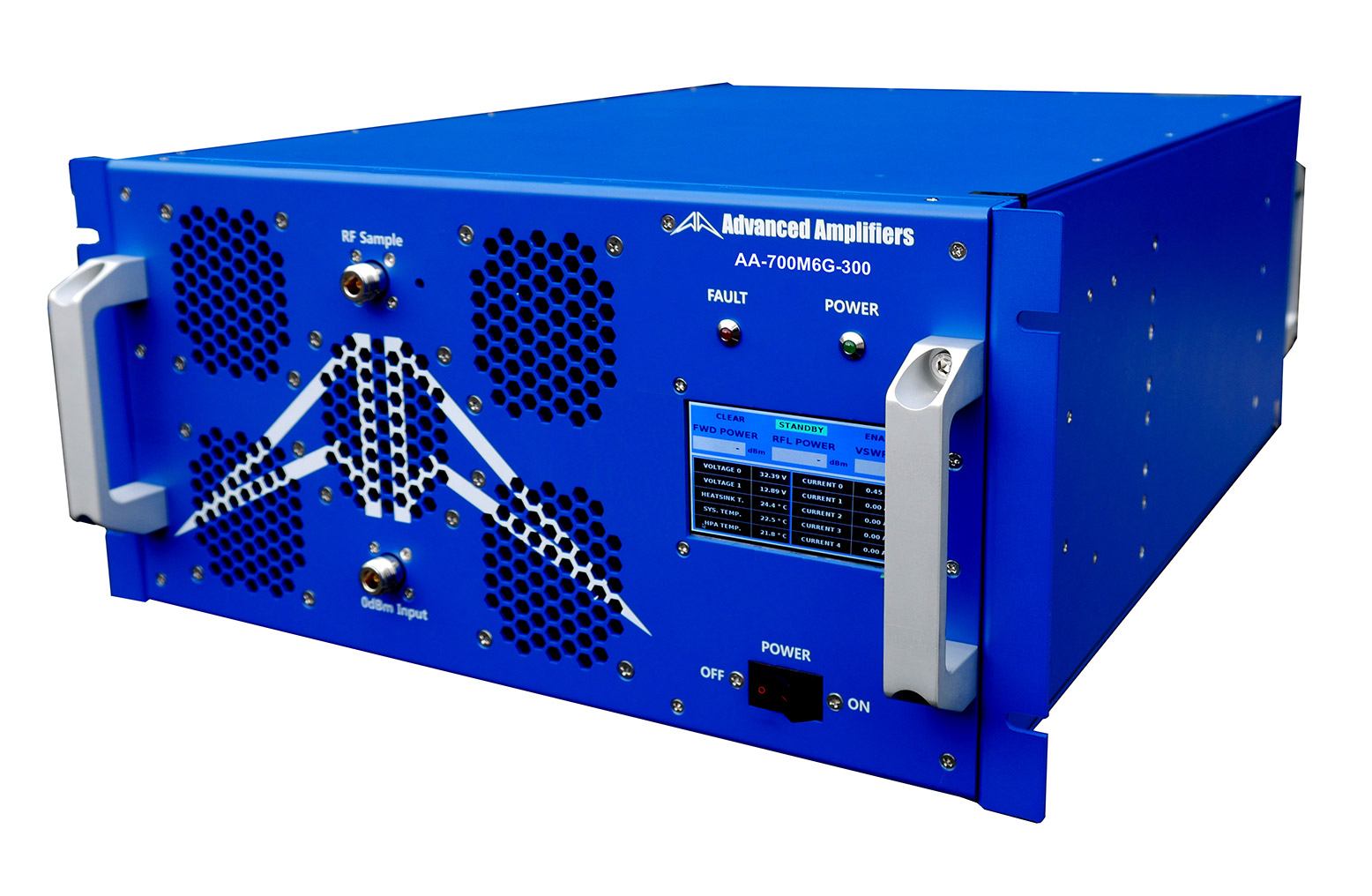 Advanced Amplifiers AA-700M6G-300 Solid State Amplifier | 700 MHz - 6.0 GHz, 300 W