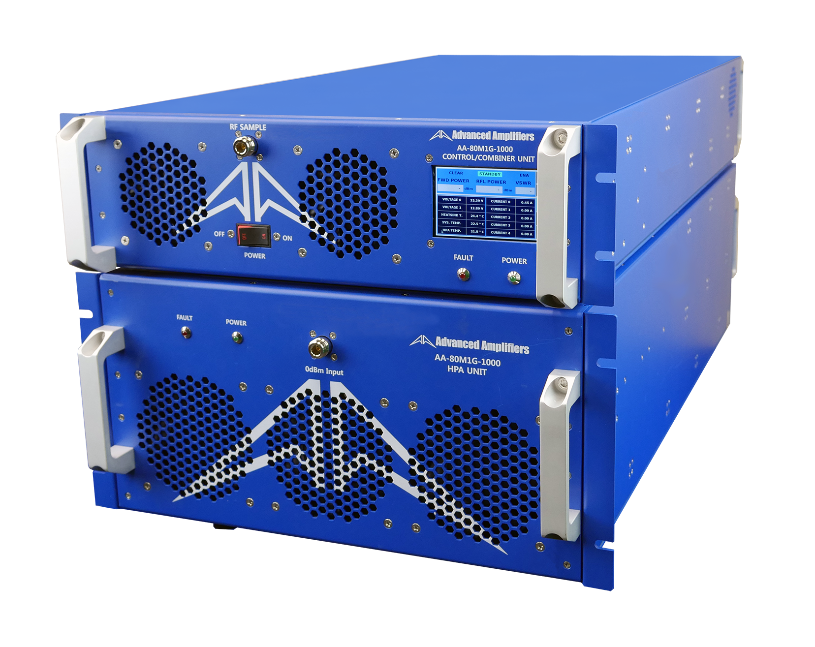 Advanced Amplifiers AA-80M1G-1000 Solid State Amplifier | 80 - 1000MHz, 1000W