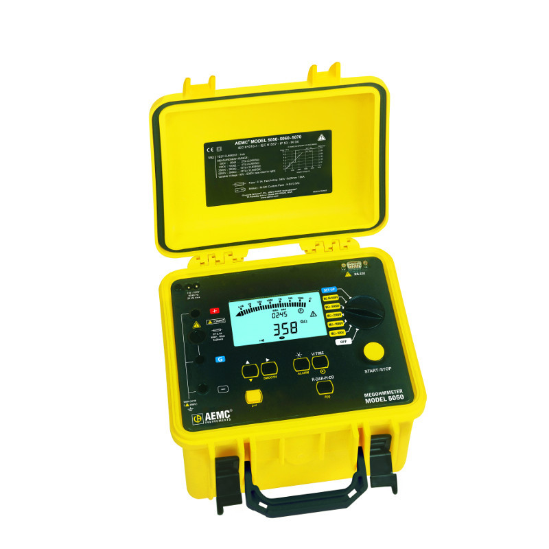 AEMC 5050 5000V Digital / Analog Megohmmeter