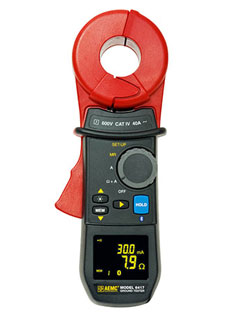 AEMC 6417 Clamp-On Ground Resistance Tester