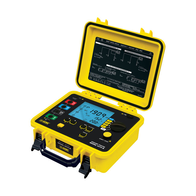 AEMC 6470 Multi-Function Ground Resistance Tester 40 Hz - 513 Hz