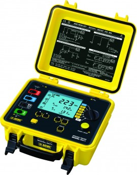 Rent AEMC 6470 Earth Resistance Tester using 2 current clamps