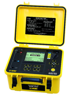 Rent AEMC 6550 Digital Megohmmeter 10 kV