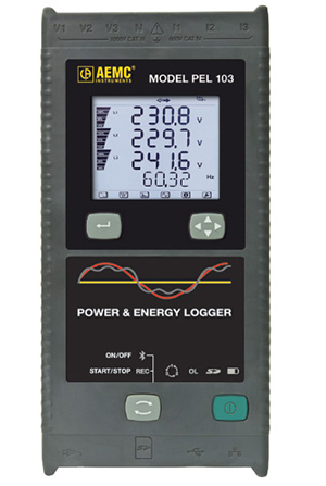 Rent AEMC PEL 103 Power and Energy Logger, 6 Channel
