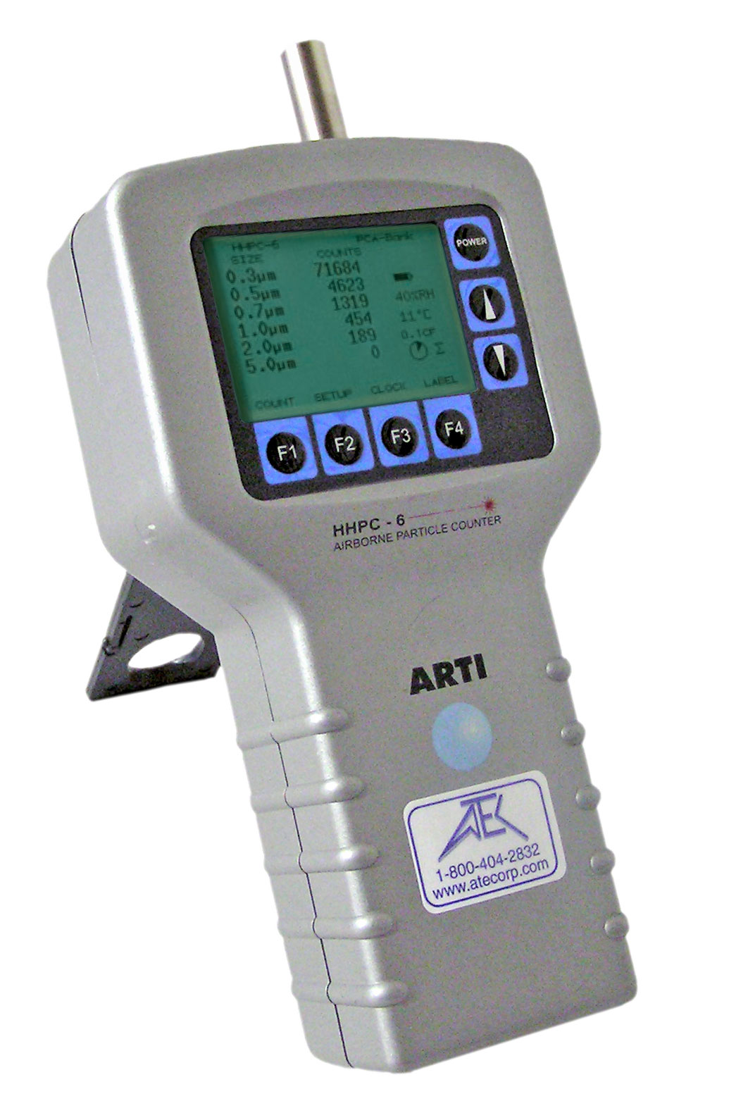 ARTI/Met One HHPC-6 Mobile Particle Counter