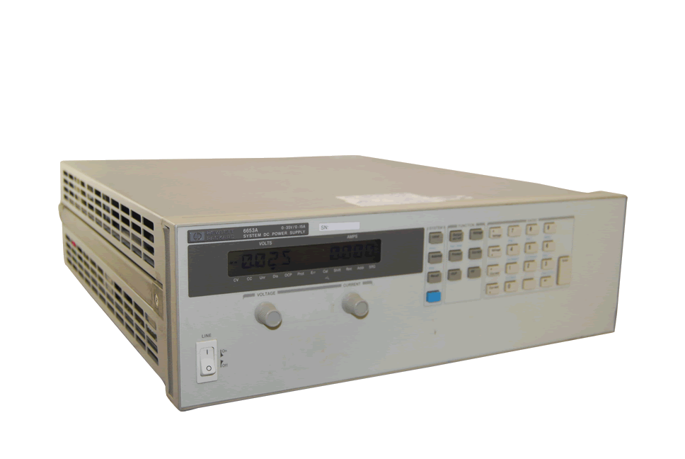Keysight 6653A 500 Watt, DC Power Supply 35V, 15A