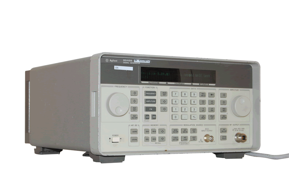 Keysight 8648B-1EA Synthesized RF High Power Signal Generator