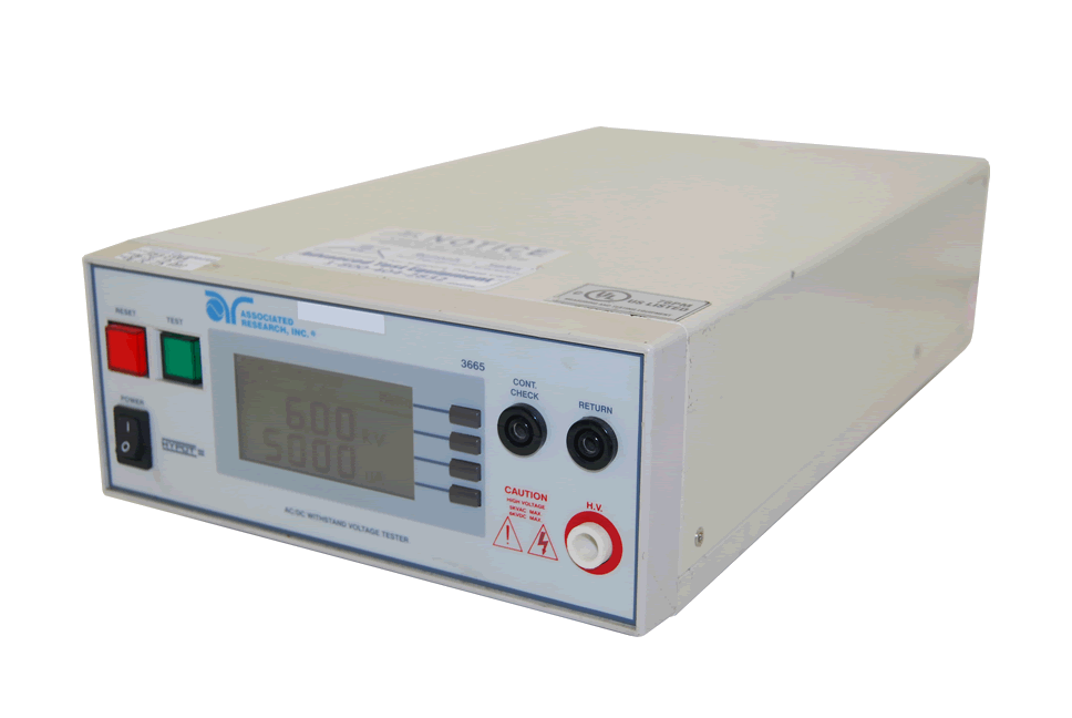 Associated Research 3665 Dielectric Withstand Tester