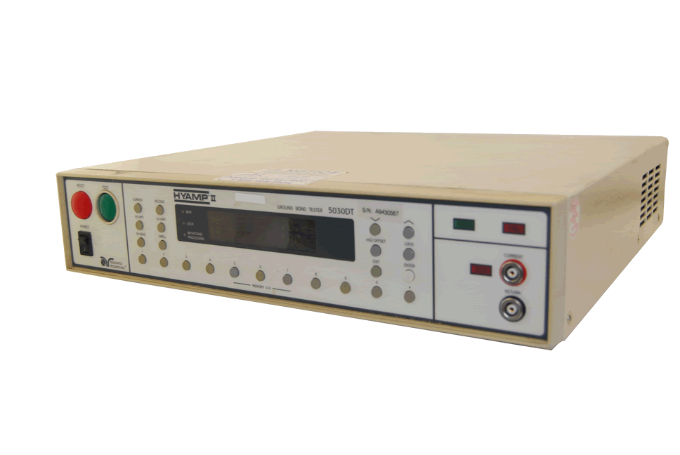 Associated Research 5030DT Hyamp II 31A Ground Bond Tester