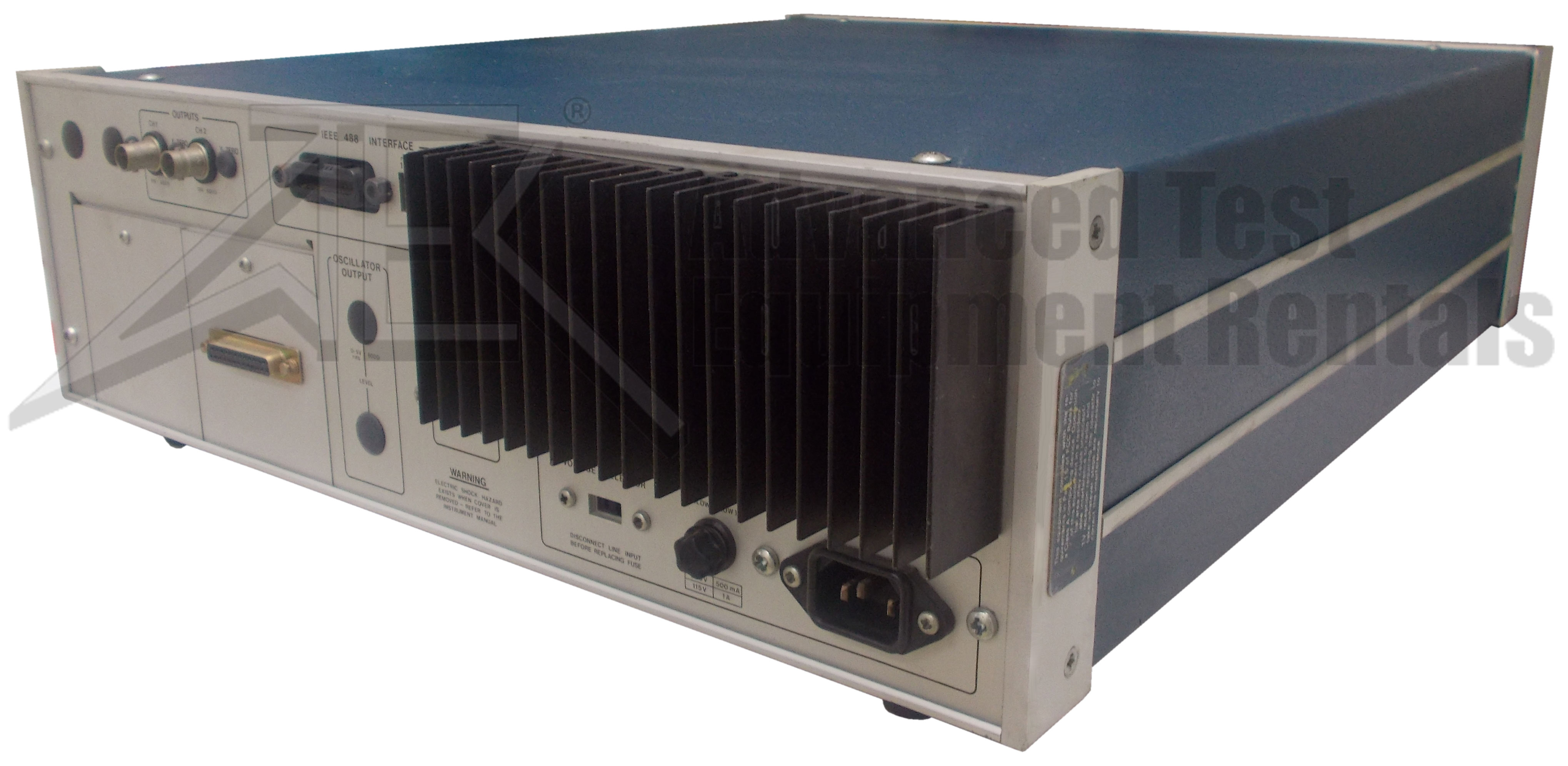 EG&G 5206 Lock-In Amplifier 200 Hz - 200 kHz