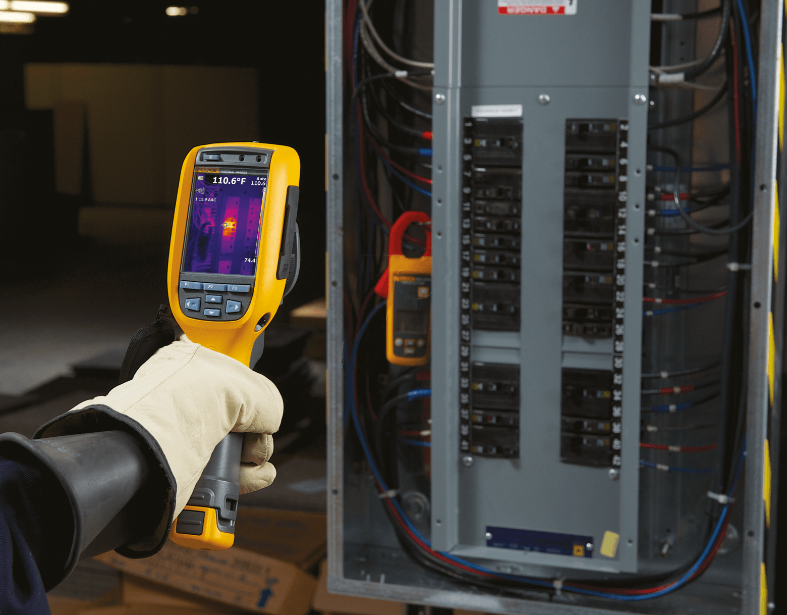 Fluke Ti125 Thermal Imager, -20°C to +350°C