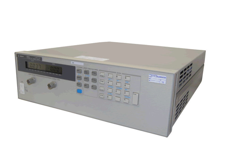 Keysight 6654A 500 Watt, DC Power Supply, 60Volt