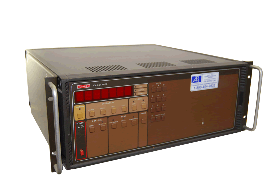 Keithley 706 Scanner/Data Logger System