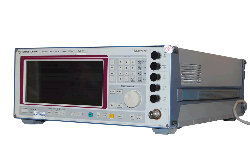 Rohde & Schwarz SMP02 Microwave Signal Generator, 10 MHz to 20 GHz