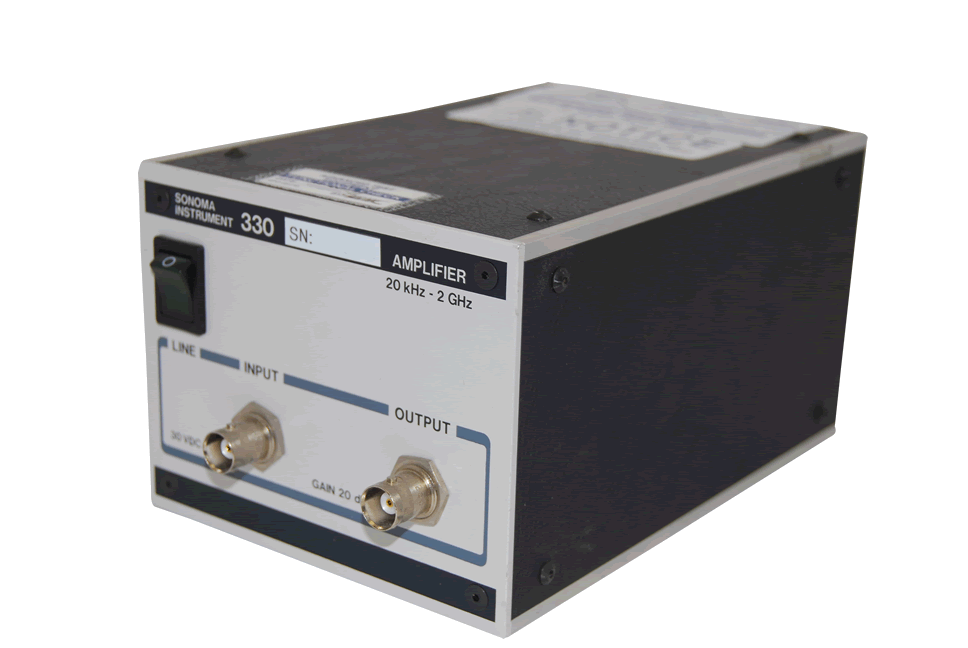Sonoma Instrument 330 RF Amplifier 10 kHz to 2.5 GHz