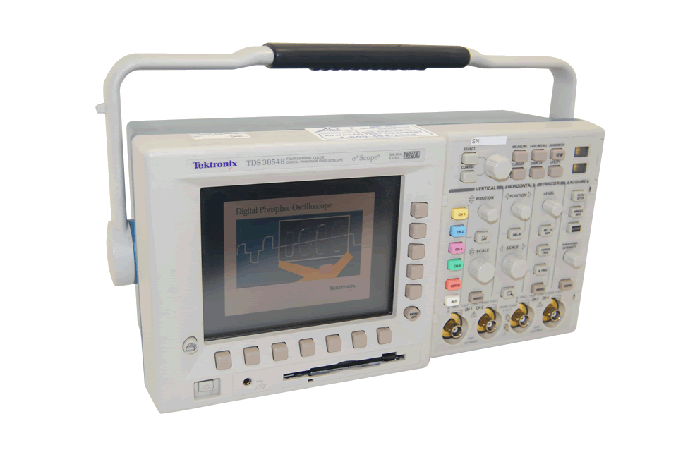 Tektronix TDS3054B Digital Oscilloscope 500 MHz, 5 GS/s