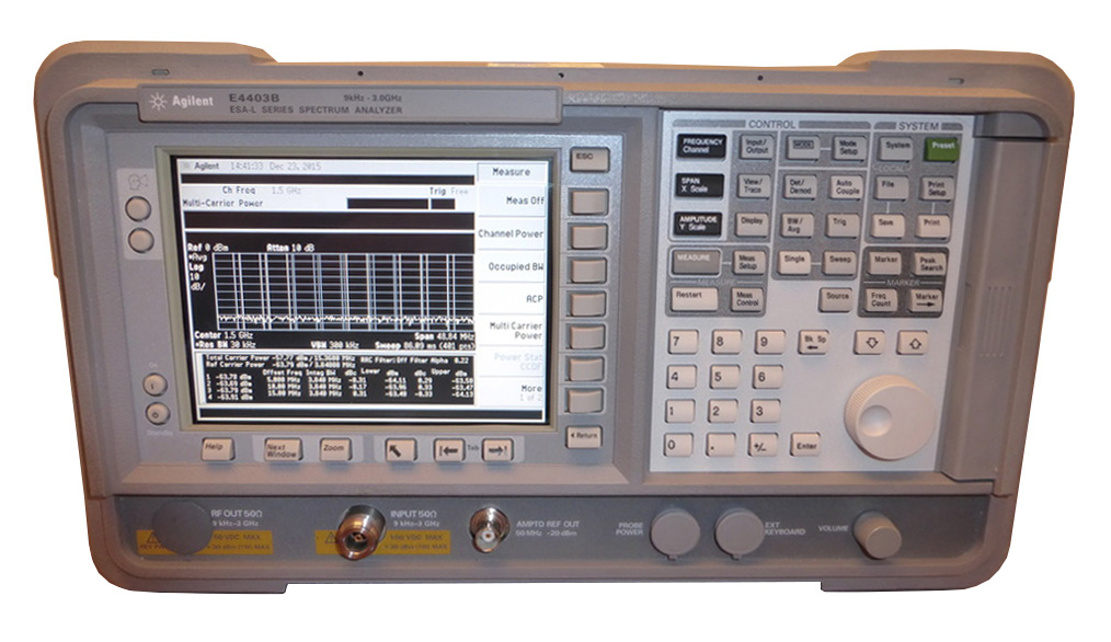 Keysight E4403B ESA-L Basic Analyzer, 9kHz - 3.0GHz