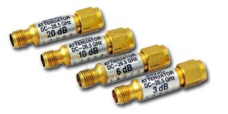 HP/Agilent 11583C Coaxial Attenuators Set 26.5 GHz
