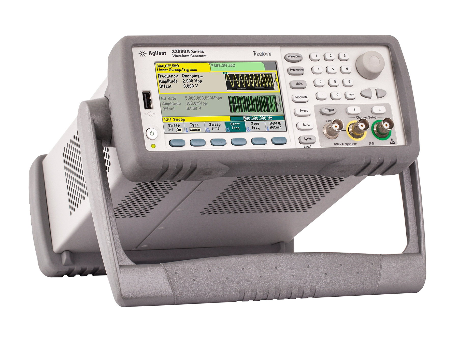 Rent Agilent 33600A Series Trueform Waveform Generators
