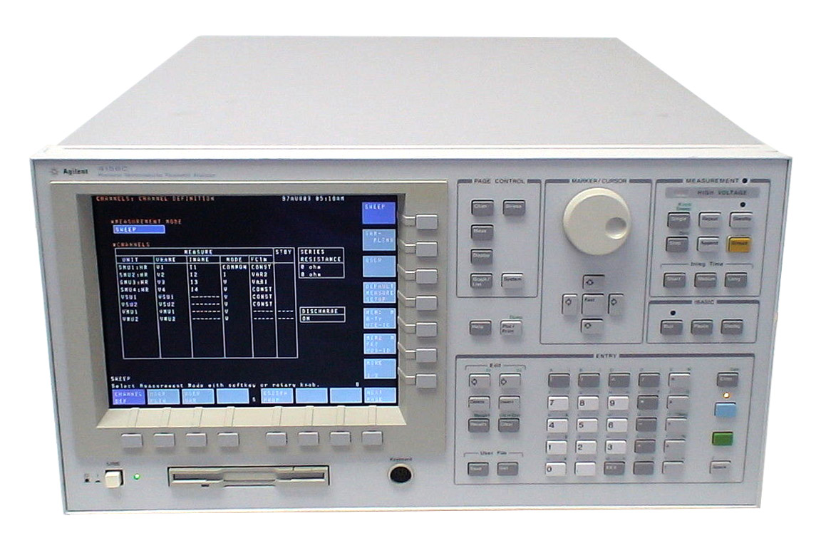 Keysight 4156A Precision Semiconductor Parameter Analyzer