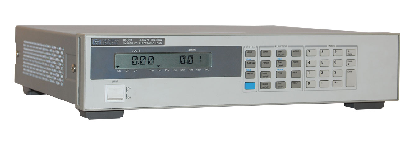 Keysight 6060B Single-Input DC Electronic Load 60 V, 60 A, 300 W