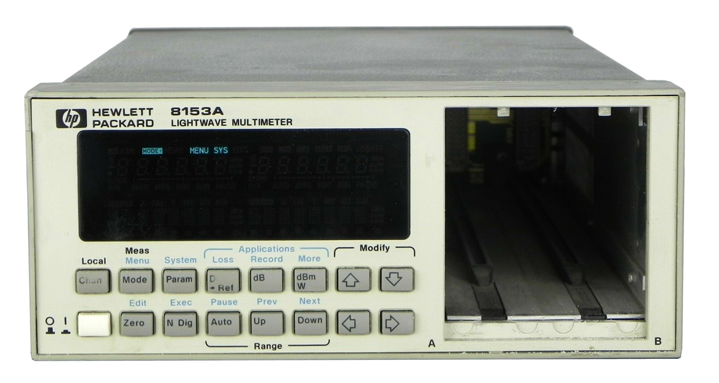 Keysight 8153A Lightwave Multimeter System