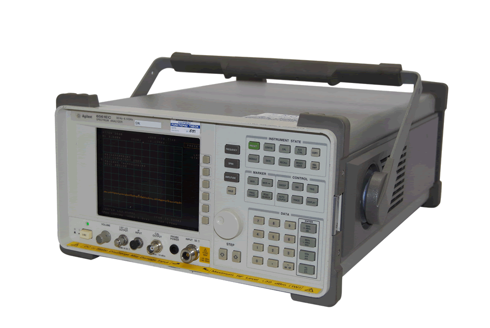 Rent HP/Agilent 8561EC Portable Spectrum Analyzer, 9 kHz - 26.5 GHz
