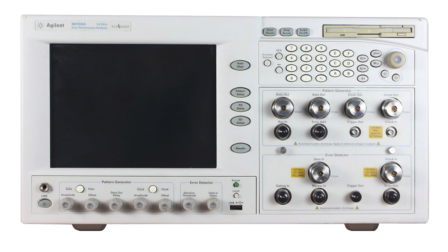 Keysight 86130A BitAlyzer® Error Performance Analyzer