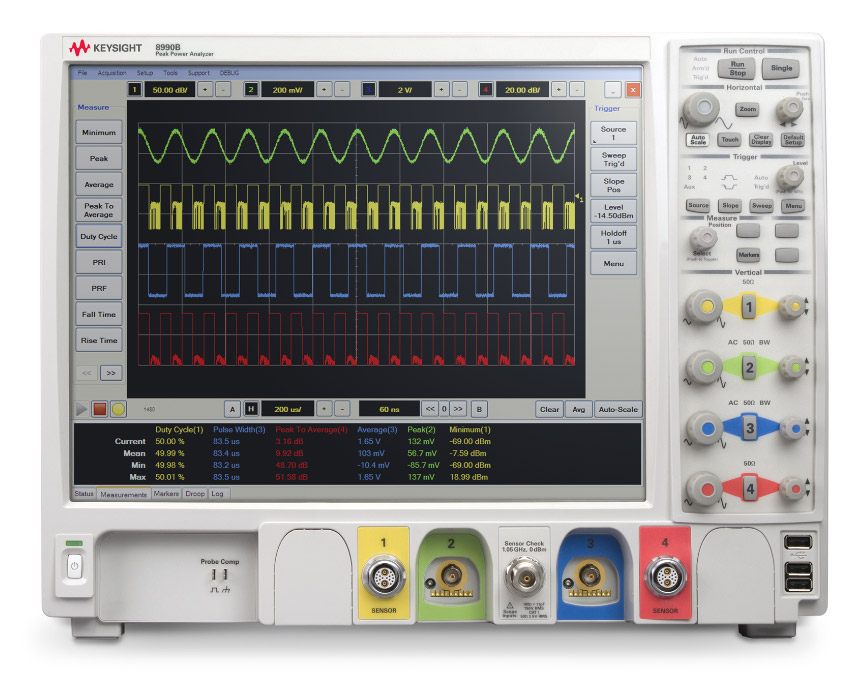 Keysight 8990B RF Peak Power Analyzer, 160 MHz