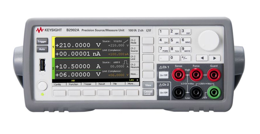Rent Keysight B2902A Precision Source/Measure Unit