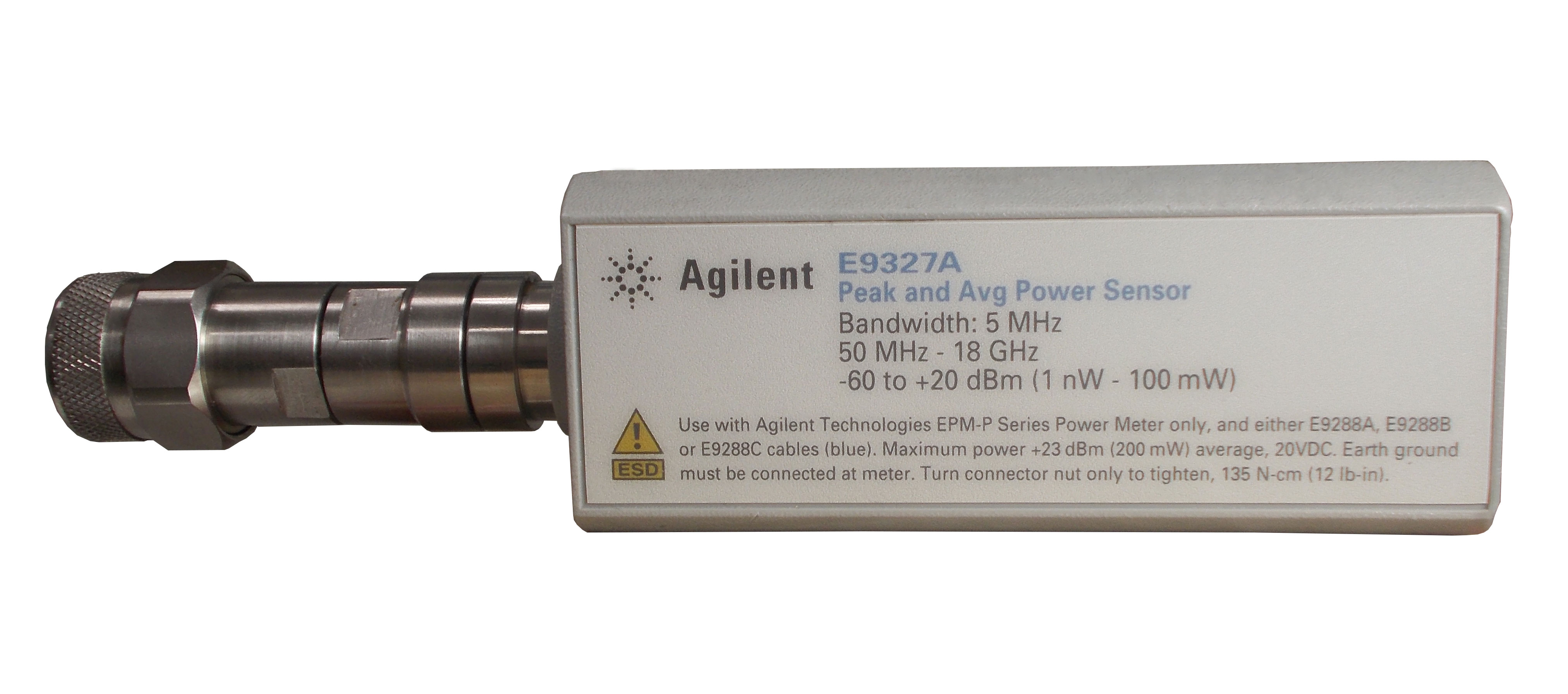 Keysight E9327A Peak and Average Power Sensor