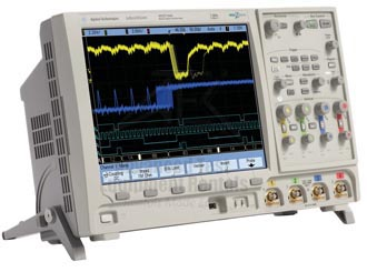 Keysight MSO7104A 1 GHz, 4 GSa/s 16 Channel O-scope