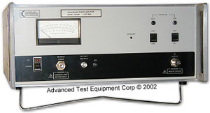 American Microwave Technology 5020B RF Amplifier 1 MHz - 200 MHz