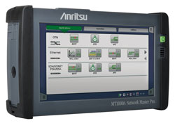 Anritsu MT1000A OTDR/CPRI Kit for Verizon Tower Testing