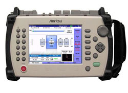Rent Anritsu MT9083A2-VZW Quad OTDR kit for Verizon Tower Testing