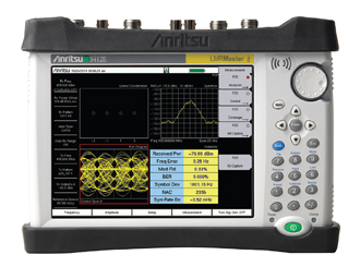Anritsu S412E LMR Master - Land Mobile Radio Modulation Analyzer