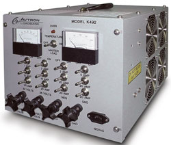 Rent Avtron K492 Resistive DC Load Bank 150 A