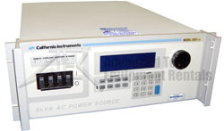 Rent, lease, or rent to own California Instruments 5001iX AC/DC Power Source/Analyzer, 5 kVA