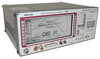 Rohde & Schwarz/Tektronix CMD80 Digital Radio Communication Tester