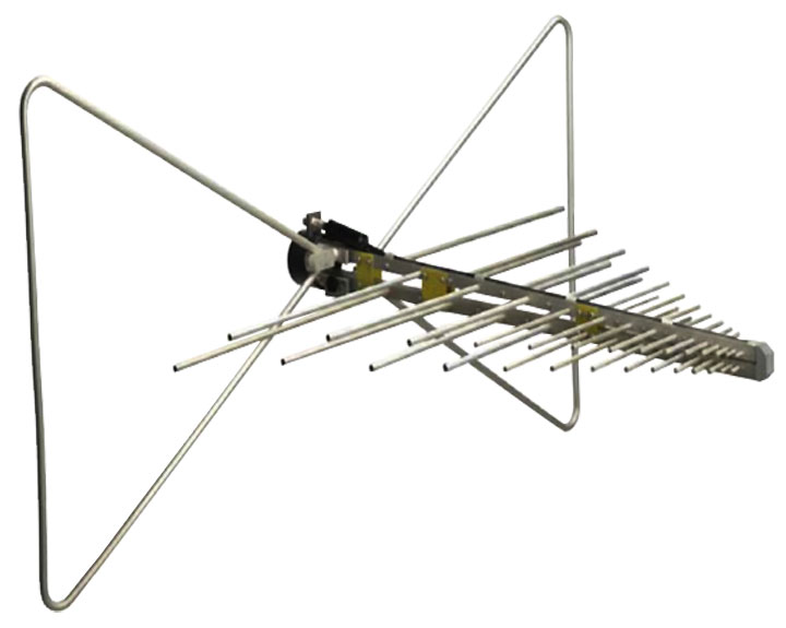 Com-Power AC-220 Combilog Antenna, 30 MHz - 2 GHz