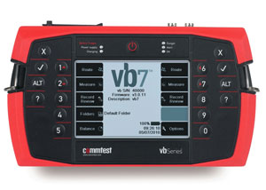 Commtest VB7 Dual Channel Vibration Analyzer